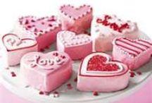 Valentine day, pastris & cakes