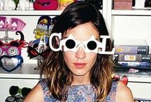 LOOKBOOK: Alexa Chung\\ / by Ashley Hetherington
