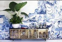Wallpaper/ Decals/ Stencils Etc. / Wallpaper, wall decals, wall stencils, painting techniques galore.