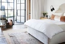 Bedrooms / Bedrooms should be simple, calming and luxurious.
