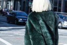 Fur coats / I love fur.  I wear vintage.