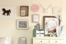 N U R S E R Y / Little Adeline's nursery... A baby space that will grow with her!
