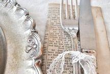 ❀Aan tafel...❀ / Waar liefde de tafels dekt, smaakt het eten het best