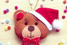 Christmas project felt