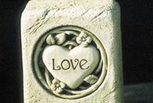 Valentine's Day! / Perfect little Valentine's Day gifts for those special people in your life. #love #Valentines #gifts #handcaststone #MadeinAmerica #originaldesigns #CarruthStudio #GeorgeCarruth #sculpture #art #stone #handcrafted #homedecor #whimsical #nature #magic #fun #gardens