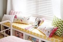 Window Seats / Cute, creative and cozy!