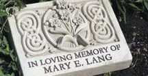 Personalized Designs / George #Carruth's Original #handcast designs with the ability to be #personalized. #Engraved for many occasions, these select designs will compliment any #home or #garden. #Handcrafted and #madeinAmerica, #weatherproof.
