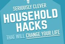 Home Hacks / Some house & life hacks we love for keeping...or restoring...sanity to the home!