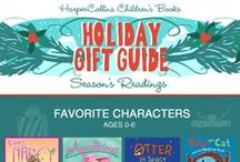 2015 Kid Lit Gift Guide! / Searching for the perfect gift for the little reader in your life? Look no further! We've got all the recommendations you need, right here: / by HarperCollins Children's