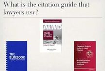Legal Citation / This board has information relative to how to cite legal materials