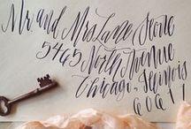 inked // / by greige design