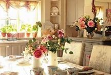 table set / by Stef* Shabby & Country Life
