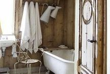 bathroom / by Stef* Shabby & Country Life