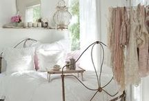 bedroom / by Stef* Shabby & Country Life