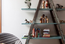 Ideas for my ladder / by Michelle Montrose Larsen