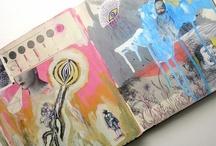 altered books / by Michelle Montrose Larsen