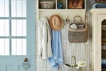 Hallway & Mudroom / by Stef* Shabby & Country Life