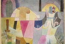 Utamaro & Klee / Utamaro's & Klee's compositions