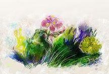 heather quinn artwork / mitt konstverk .. työstäni .. mo saothar ealaíne .. meri kalakrti .. mon art .. mis obras de arte