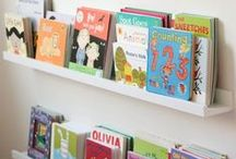 Mini bookshelf inspiration... / Children's books and book displays...