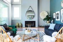 Déco / Des intérieurs dont la décoration nous rappelle la maison, un endroit douillet, cosy et chaleureux