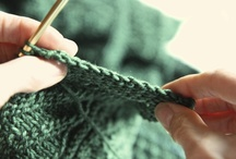 Crochet and Knitting / by Sarah D