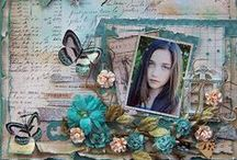 Scrapbook Layouts / by Maria Harms