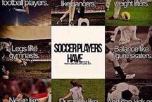 """Soccer is life(:  / Soccer is my everything!!!   """"No grass stains, no glory, no bruises, no story!""""⚽⚽"""