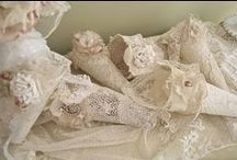 Linens~doiles~lace~lovlies~ / Linens, crochets, lace, all things lovely to me! / by Jewels Vann