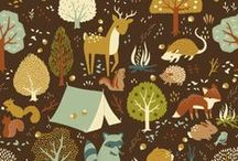 Where the Wild Things Live / Wild & Calm Illustrations from the Forest