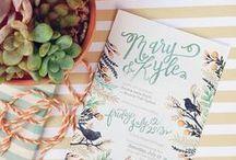I invite you / Wedding, birthday, party... Invitations.