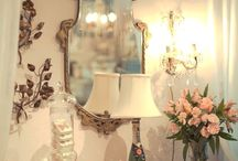 Our Chicago Wedding Boutique / Displays, Vignettes, Bijoux and all things French & Lovely! www.LeftBankBridal.com