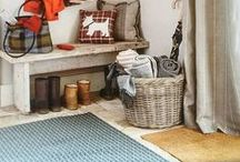 Country Home / Rustic charm - not just for the countryside. Whether you live in a buzzing city or a beautiful rural town, these cosy cottage elements will make you feel right at home.