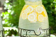 for the love of LEMONADE...  / When life gives you lemons... make lemonade!  It may be cliché but who doesn't love a lemonade stand with wonderful treats and of course lemonade... check out all the fun summer possibilities. / by Artsy Fartsy