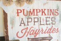 Fall / Halloween Ideas / by Trissa Snoke