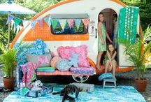 happy CAMPER / Camping foods, tents and parties. / by Artsy Fartsy
