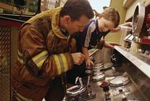 Fire Safety Education / Commemorating the Great Chicago Fire of 1871, Fire Prevention Week is observed in the U.S. on the Sunday through Saturday period in which October 9 falls.  Here are some educational resources I've found to help teach fire safety.
