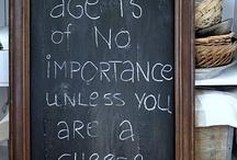 Chalkboards / by Sheila Ball