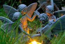 Dragons Fairies, Unicorns & Gnomes / I do believe in fairies...I do... / by Sheila Ball