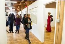 Fashion Design Center / The Bridgeport Art Center has a beautiful workspace for fashion designers including the possibilities to showcasing their work and to have a runaway show.