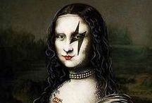 Mona Lisa & other parodies / by Patsy A. Griffith