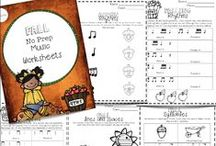 Music on Teachers Pay Teachers / Music products and freebies on TpT. Includes freebies and products from music stores on TeachersPayTeachers.