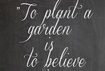 A For the Garden