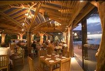 Hawaii Restaurant Spaces / The creative touches that make your dining experience fun or special. Where you can relax and enjoy a great atmosphere.