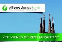 """Eventos: eltenedor.es te guía Barcelona 2013 / Del 26 de septiembre al 6 de octubre, eltenedor.es pone en marcha """"eltenedor.es te guía Barcelona"""",  11 días gastronómicos durante los cuales los barceloneses y todo aquel que quiera pasarse por la Ciudad Condal podrán disfrutar de más de 300 restaurantes con descuentos exclusivos de -50% en carta reservando a través de www.eltenedor.es o de sus aplicaciones móviles."""
