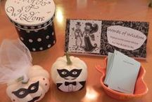 boo bridal shower / pictures of Halloween themed bridal shower / by Caron Ginier