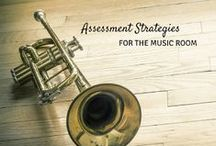 All About Assessment / Assessment ideas for the general and/or music classroom. Ideas can work for the Kodaly-inspired or Orff-inspired teacher, or any music teacher looking for active music making assessment ideas. Assessment for learning in any classroom!