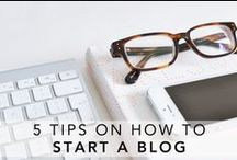 BLOGGING TIPS / There's always something new to learn in the world of blogging! Some tips and advice never goes amiss!