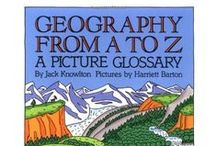 """Geography From A to Z / Resources to go along with teaching from the book """"Geography From A to Z"""" (http://amzn.to/2xH441o) written by Jack Knowlton."""
