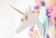{Event Planning} Unicorn Party / Everything you need to throw the perfect unicorn birthday bash!